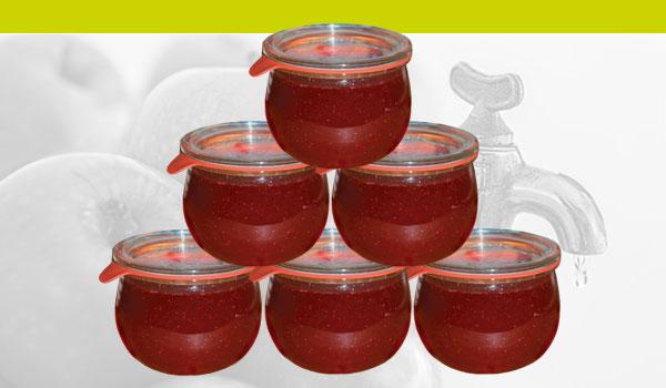 Marmelade-Einmachen