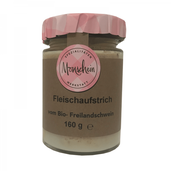 MONSCHEIN ORGANIC MEAT SPREAD, 160g