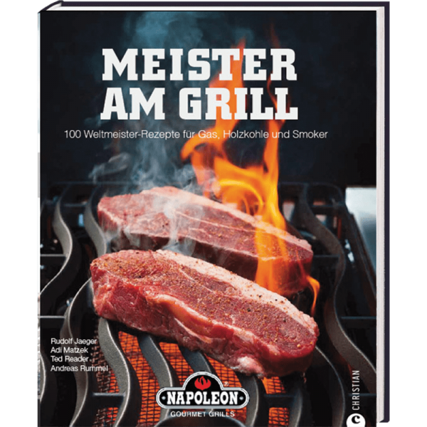 "NAPOLEON BBQ Book ""Meister am Grill"""