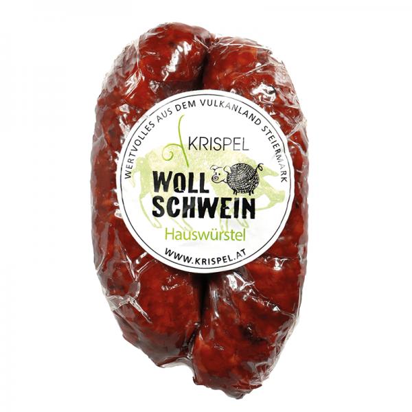 KRISPEL wool pig house sausages, 150g