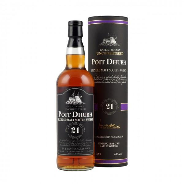 Whisky Poit Dhubh 21y. Blended Malt Whisky