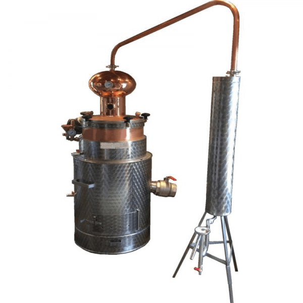 holzeis - Schnapsbrennanlage Holz-/Gas, H, 80 L
