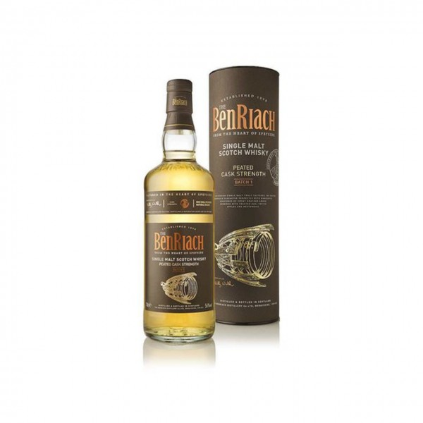 WHISKY BenRiach Peated Cask Strength Batch 1 Single Malt Scotch