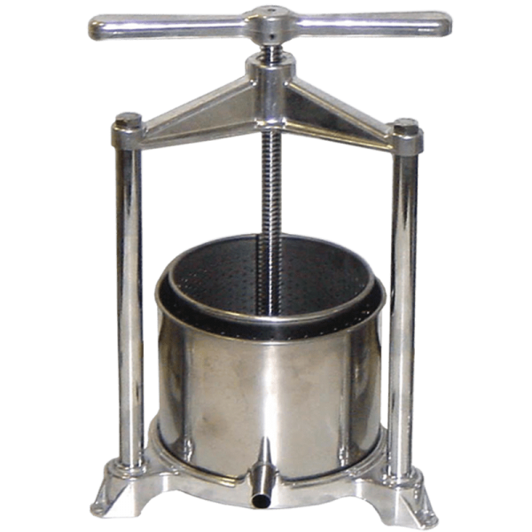 Fruit Press stainless steel 1.3 l