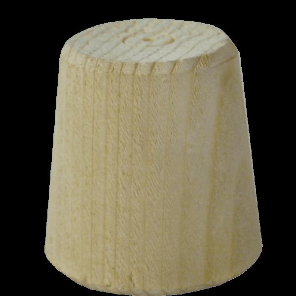 Holzspund (Faßzapfen) 20-35 mm, L=80 mm