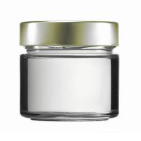 Konservenglas - Factum 212 ml mit Deckel gold
