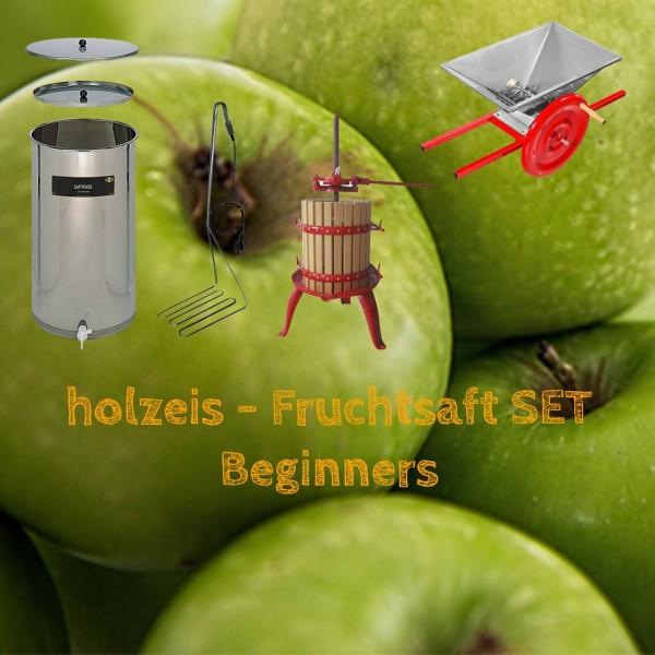 holzeis - Fruchtsaft SET - Beginners