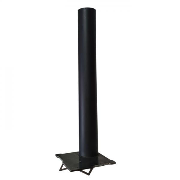 FLARE SMOKE EXHAUST Ø 130mm H 120mm steel