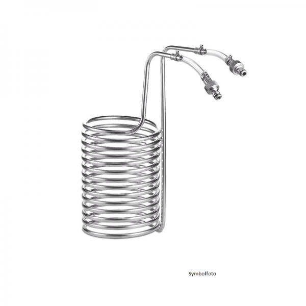 Wort Cooler for Braumeister 20 l, stainless steel