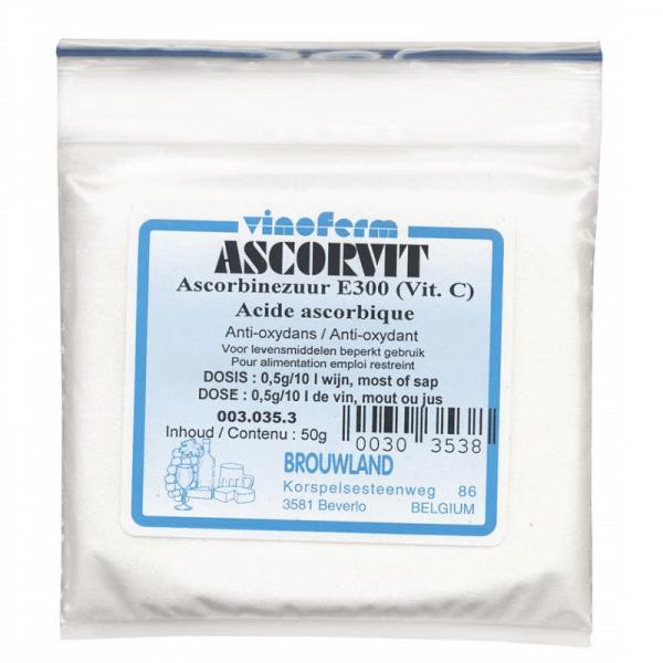 Vitamin C (Ascorbic acid) C, 10 g
