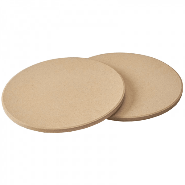NAPOLEON 2 PCS. PIZZA STONE SET, for TravelQ