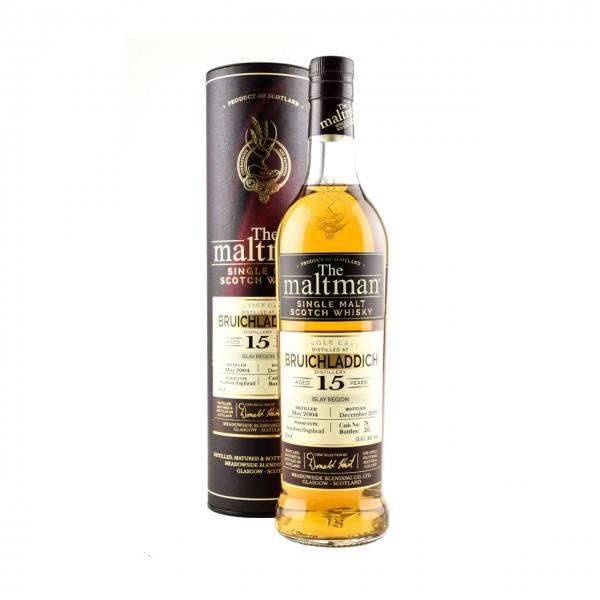 WHISKY Bruichladdich 2004 15y Single Malt Scotch