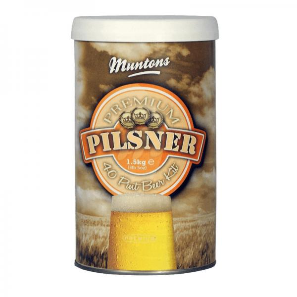 Beerkit Muntons Premium Pils 1.5Kg