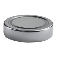 Ersatz-twist-off Deckel, Factum 70mm silber
