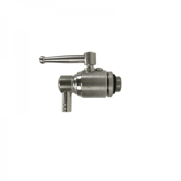 Stainless Steel Ball Tap 1/2""