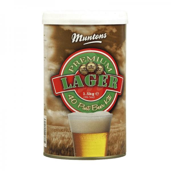 HEIMBRAUSET MUNTONS Premium Lager 1,5 kg