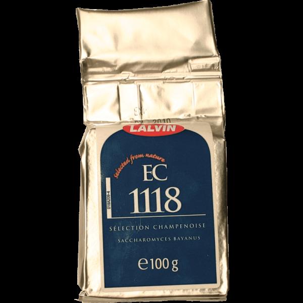 Dry Selected Yeast Lalvin (EC 1118), 125 g