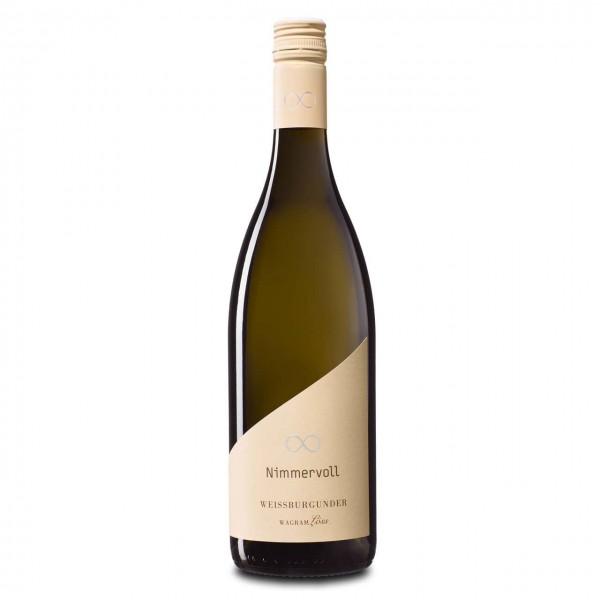 Nimmervoll Wein Weißburgunder Wagramlöss 2020, 12,5%vol, 0,75l