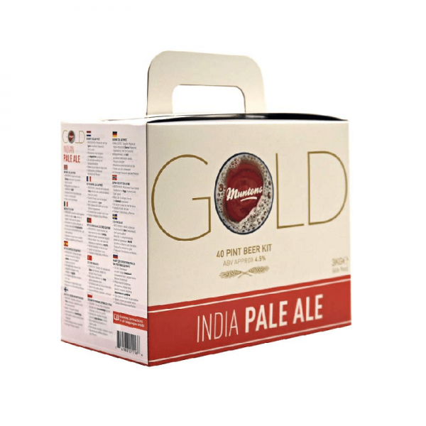 HEIMBRAUSET MUNTONS GOLD India Pale Ale 3kg