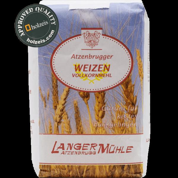 Mehl Österreich, Weizenmehl Vollkorn, 1 kg