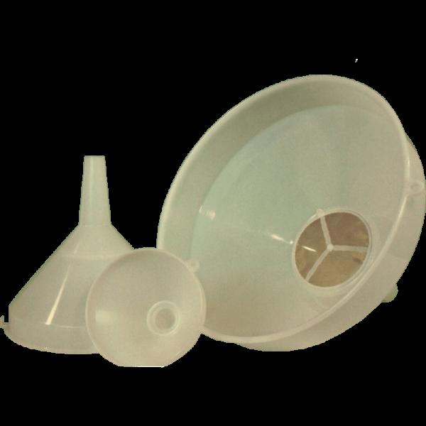 Funnel with Sieve Insert, medium