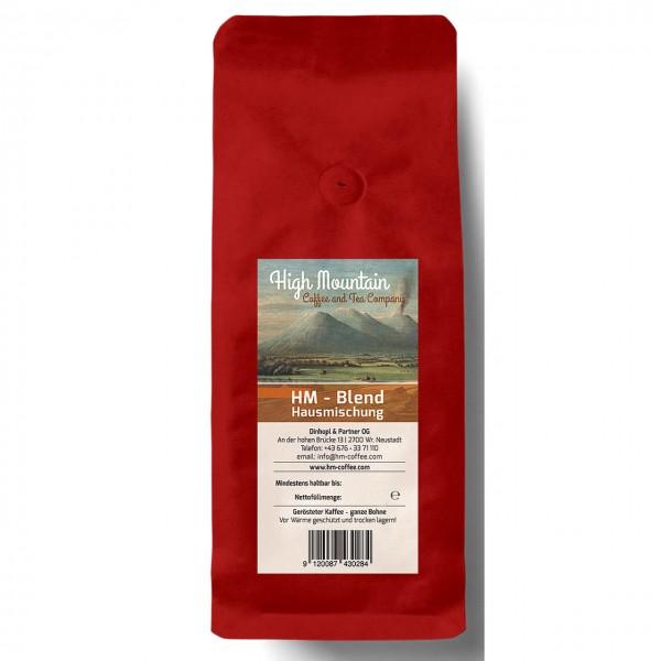 High Mountain-Blend Hausmischung, coffea arabica, handgeröstet, 250g