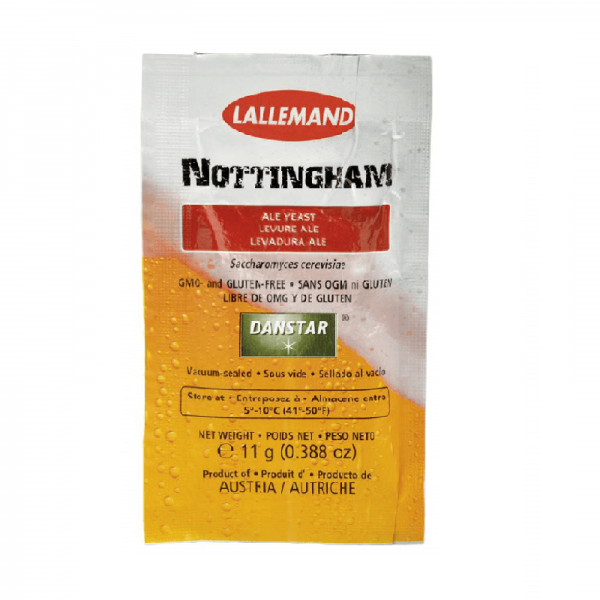 Nottingham Ale Beer Yeast top-fermenting, 11g