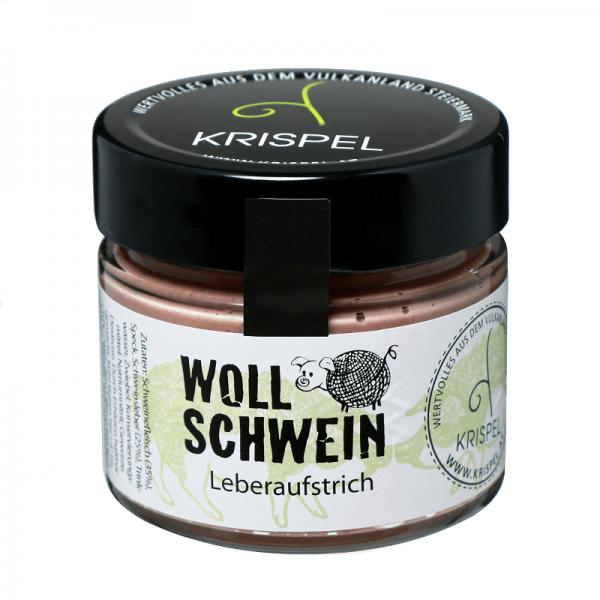 KRISPEL Wooly pig liver spread, 180g