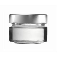 Konservenglas - Factum 75 ml mit Deckel silber