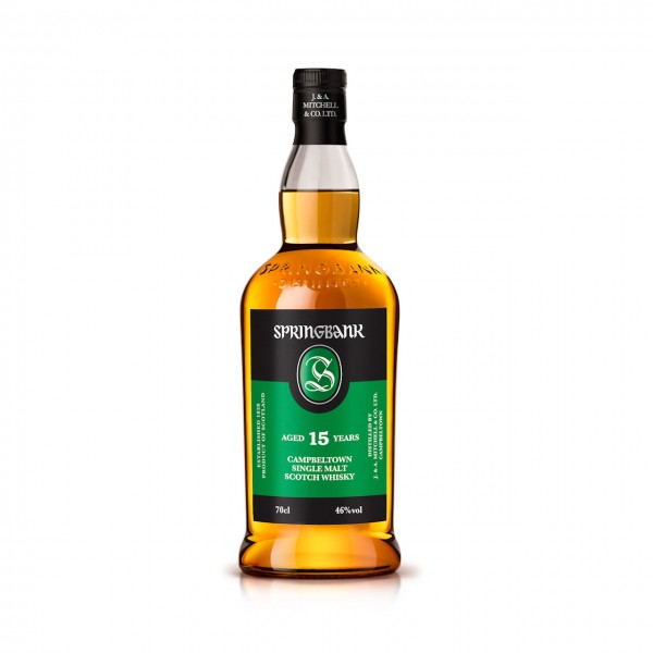 Whisky Springbank 15y. Single Malt Scotch