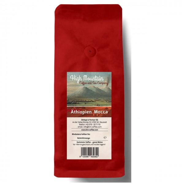 High Mountain-Äthiopien Mocca, coffea arabica var mocca, handgeröstet, 250g