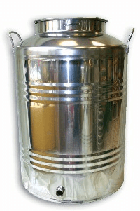 Stainless Steel Churn 50 lt