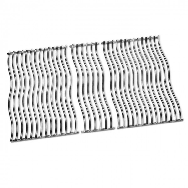 THREE STAINLESS STEEL COOKING GRIDS for Rogue® 525