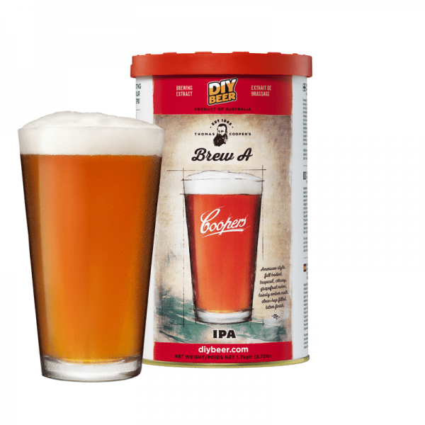 Heimbrauset Thomas Coopers Brew A IPA 1,7 kg