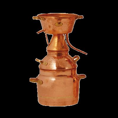 Distiller Alquitara after Leonardo da Vinci, for essential oils, 2 l