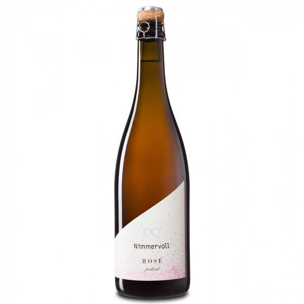 Nimmervoll Wein Rosé perlend 2020, 12,0%vol, 0,75l
