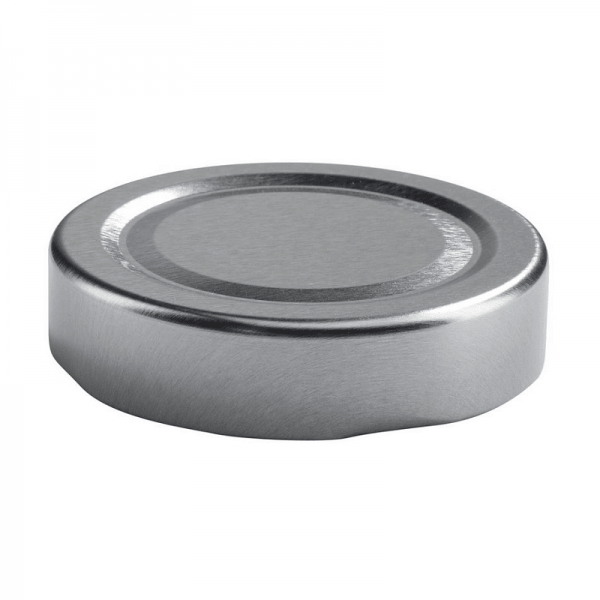 Sparepart-Twist Off Cap, ø58mm, Deep, silver