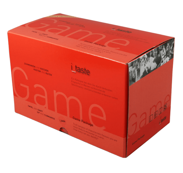 i_taste game, level 1, wine tasting guessing game