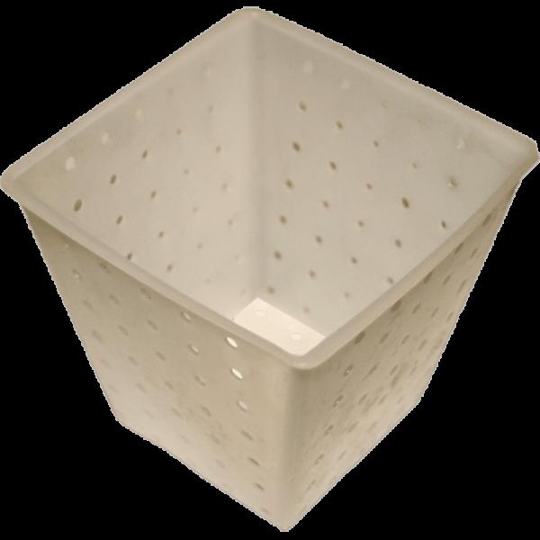 Cheese Mold cube, 9x9/6x6cm, 8,5cm high, ca. 200g