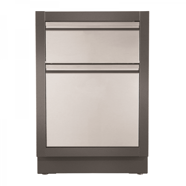 NAPOLEON OASIS TRASH CAN/KITCHEN ROLL CABINET