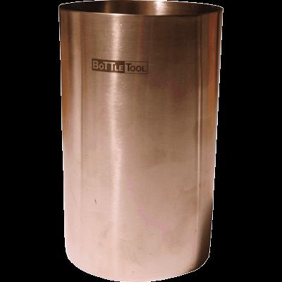 SPUCKNAPF stainless steel, funnel removable