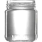 Konservenglas rund, 212 ml, m. TO-Deckel 63 mm