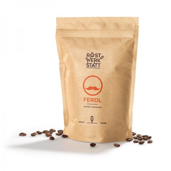 """RÖSTWERKSTATT-COFFEE VIENNESE BLEND """"Ferdl"""",250g"""
