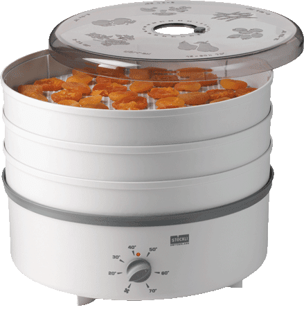 DÖRREX dehydrator with 3 stainless steel grids