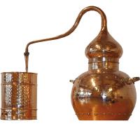 Destille Alembik, 30 L, genietet