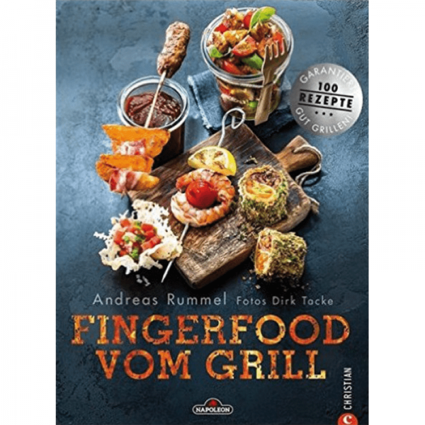 "NAPOLEON BBQ BOOK ""Fingerfood vom Grill"""