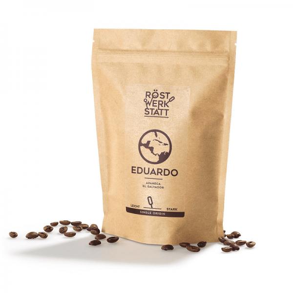 """RÖSTWERKSTATT COFFEE SINGLE ORIGIN """"Eduaro"""", 250g"""