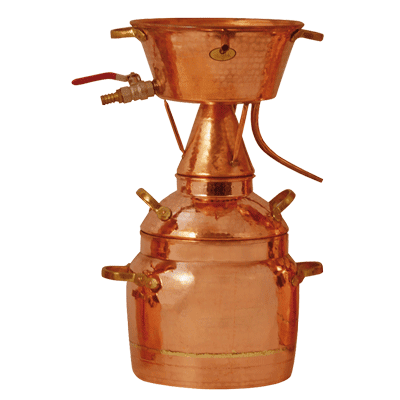 Destiller nach Leonardo da Vinci 75 l