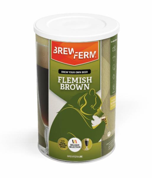 HOME-BREWING SET BREWFERM Flemish Brown 1,5kg