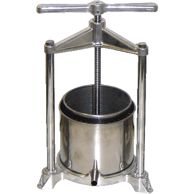 Fruit Press stainless steel 5.3 l